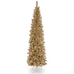 National Tree Company 6-Foot Tinsel Christmas Tree in Champagne