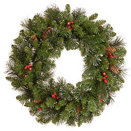 National Tree Company Crestwood Spruce 24-Inch Wreath