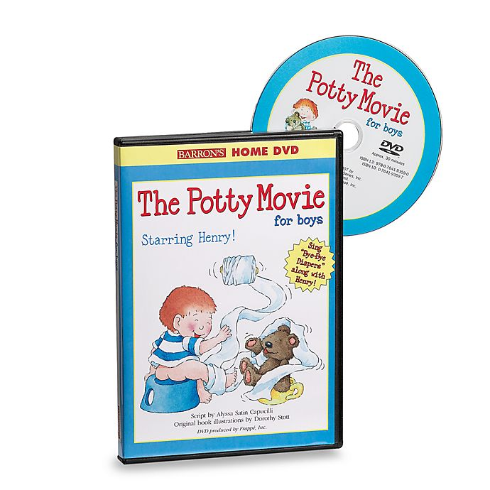 Alternate image 1 for The Potty Movie for Boys DVD