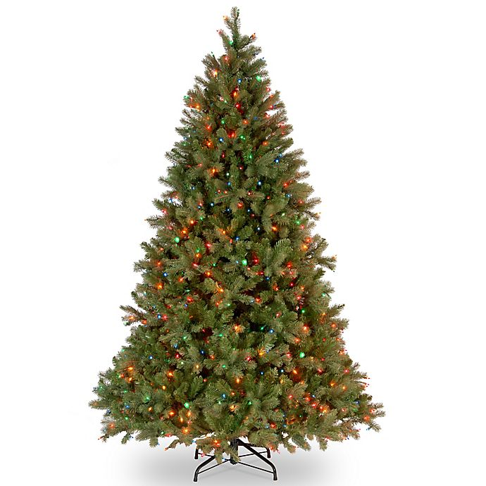 Alternate image 1 for National Tree Company Douglas Fir Pre-Lit Christmas Tree with Multicolor Lights