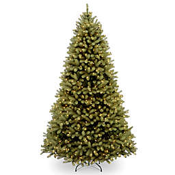 National Tree Company Downswept Douglas Fir Pre-Lit Christmas Tree with Clear Lights