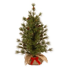 National Tree 3-Foot Bristle Pine Christmas Tree