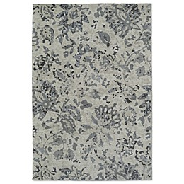 Kaleen Cozy Toes Impressions Rug in Blue