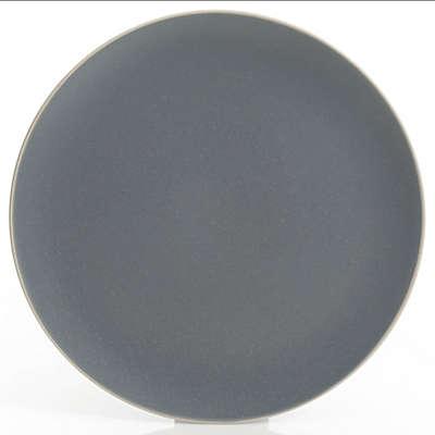 Artisanal Kitchen Supply® Edge Dinner Plate in Grey