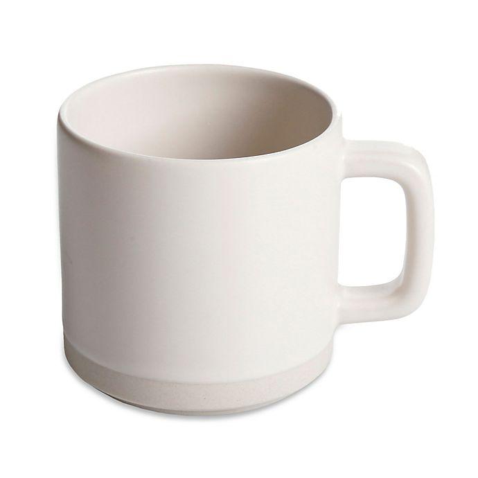Alternate image 1 for Artisanal Kitchen Supply® 13 oz. Edge Mug in Linen