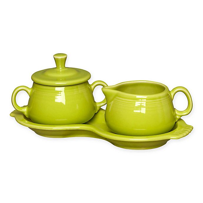 Alternate image 1 for Fiesta® Rustic Harvest Sugar and Creamer Set with Tray