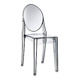 Modway Casper Dining Side Chair in Grey