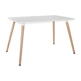 Modway Field Dining Table in White