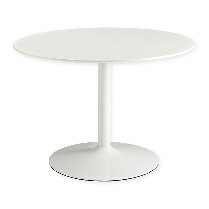 Alternate image 1 for Modway Revolve Wood Dining Table in White