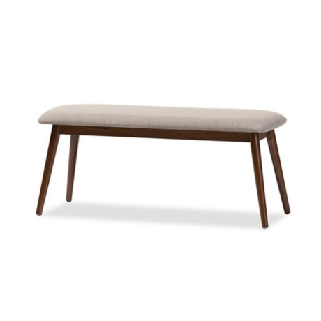 buy wholesale interiors inc bench in grey brown from bed bath beyond