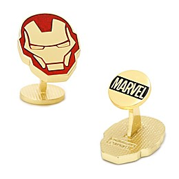Marvel® Iron Man Gold/Silver-Plated Comic Cufflinks