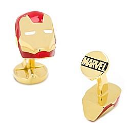 Marvel 3D Iron Man Gold Plate Cufflinks