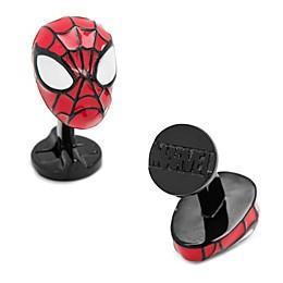 Marvel 3D Spiderman Silver Plate Cufflinks