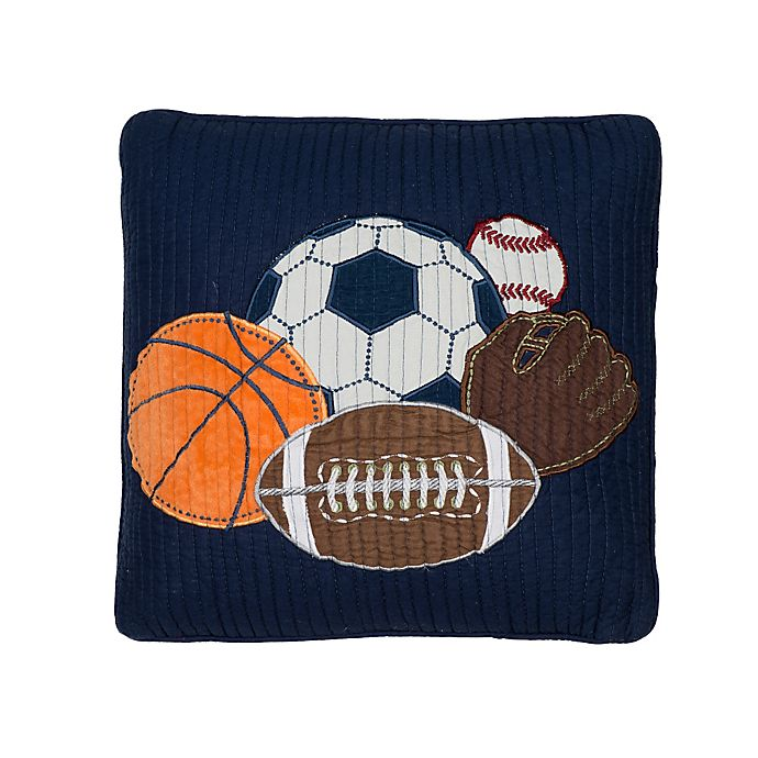 Alternate image 1 for Levtex Home Gareth Sports Icon Pillow
