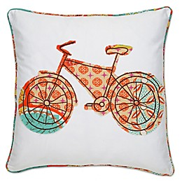 Levtex Home Kumasi Bicycle Square Throw Pillow