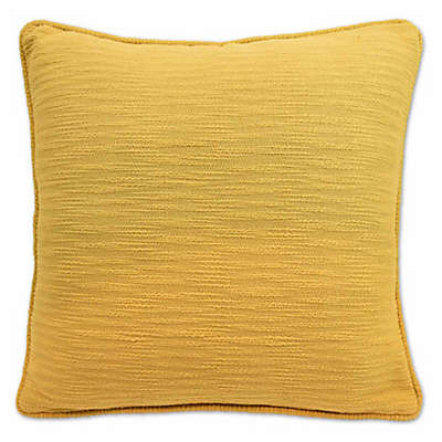 Blissliving® Yasmine 18-Inch Square Throw Pillow in Yellow