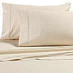 All Natural Cotton 500-Thread-Count Square King Sheet Set in Natural