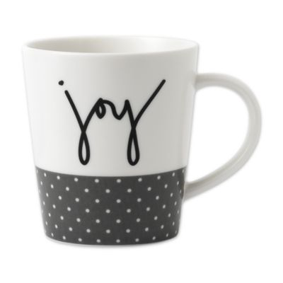 "Ed Ellen De Generes Crafted By Royal Doulton® ""Joy"" Mug by Bed Bath And Beyond"