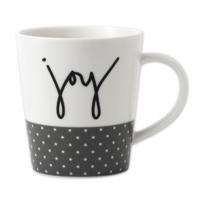 "Ed Ellen De Generes Crafted By Royal Doulton® ""Joy"" Mug by Bed Bath And Beyond"