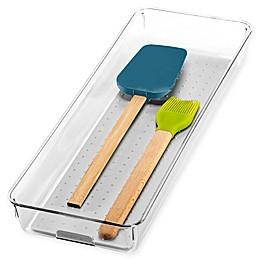 madesmart® Clear Collection 16-Inch x 6-Inch Drawer Organization Bin