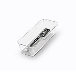 madesmart® Clear Collection 8-Inch x 3-Inch Drawer Organization Bin