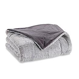 Berkshire Blanket Grace Tipped Fur Throw Blanket