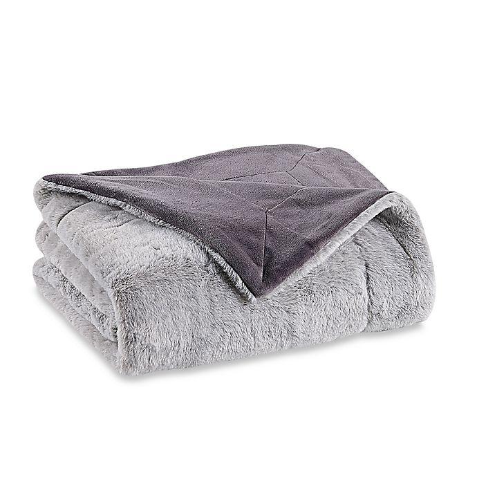 Alternate image 1 for Berkshire Blanket Grace Tipped Fur Throw Blanket