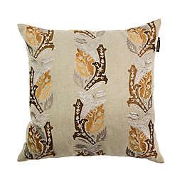 Bombay® Sari Square Throw Pillow in Tan