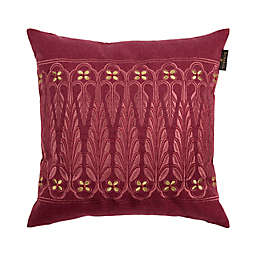 Bombay® Point de Lac Square Throw Pillow in Plum