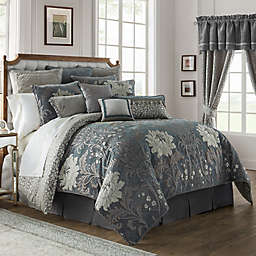 Waterford® Linens Ansonia Comforter Set in Pewter
