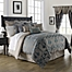 Part of the Waterford® Linens Chateau Lake Comforter Set in Slate