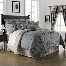 Waterford® Linens Chateau Lake Comforter Set in Slate