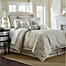 Part of the Waterford® Linens Olivette Reversible Comforter Set