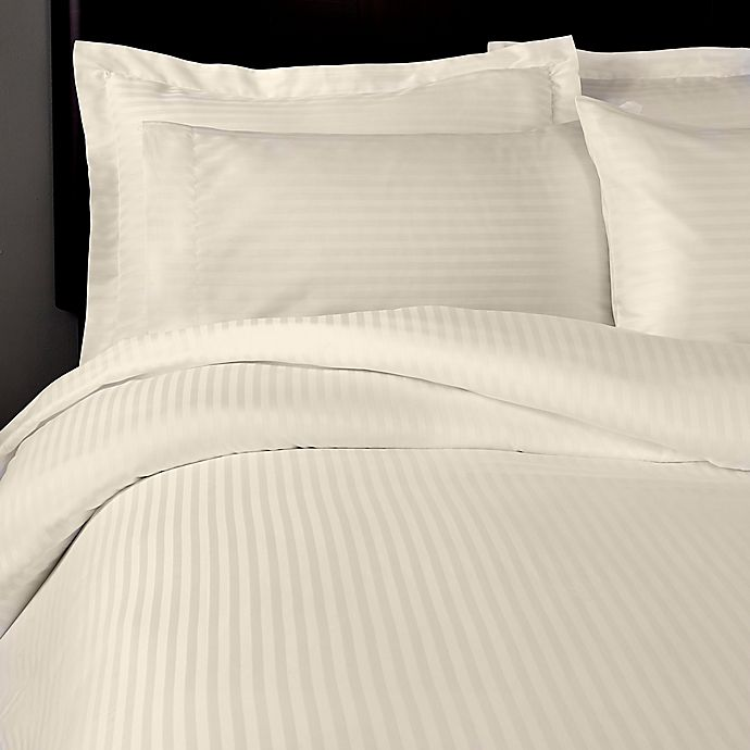 Alternate image 1 for T-Y Group Solid Full/Queen Duvet Cover in Beige