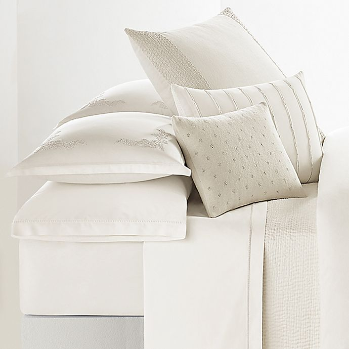 Alternate image 1 for Vera Wang™ Passimenterie Pillow Sham in Natural