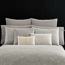 Vera Wang™ Home Crochet Lace Pillow Sham in Grey