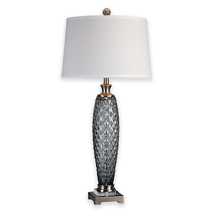 Alternate image 1 for Uttermost Lonia Table Lamp in Grey
