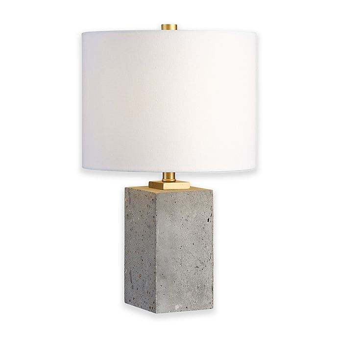Alternate image 1 for Uttermost Drexel Table Lamp in Concrete
