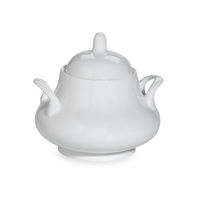 Alternate image 1 for Nevaeh White® by Fitz and Floyd® Classic Sugar Bowl