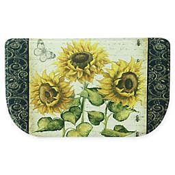 Bacova 18 Inch X 30 Sunflower Kitchen Mat
