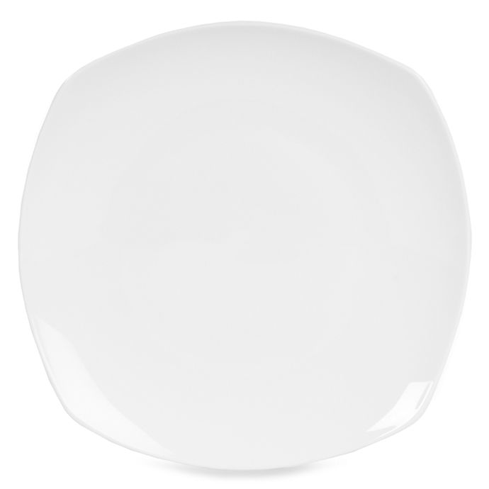 Alternate image 1 for Nevaeh White® by Fitz and Floyd® Soft Square Dinner Plate