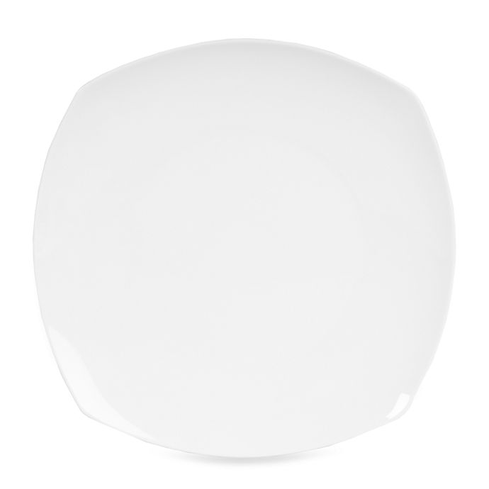 Alternate image 1 for Nevaeh White® by Fitz and Floyd® Soft Square Salad Plate
