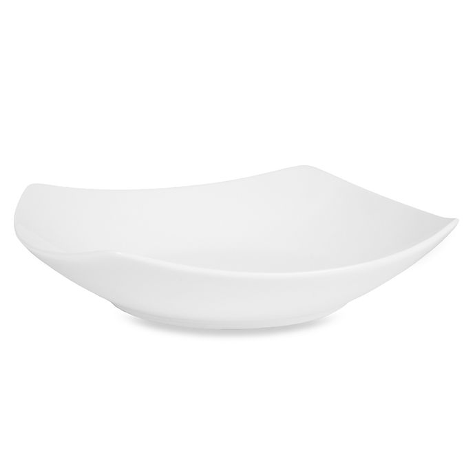 Alternate image 1 for Nevaeh White® by Fitz and Floyd® 8.25-Inch Hard Square Soup Bowl