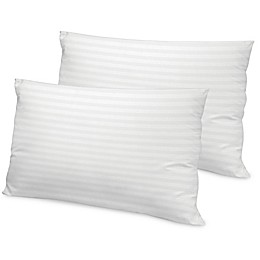 Therapedic® Loft 500-Thread-Count Tencel Bed Pillow in White (Set of 2)