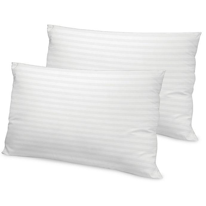 Alternate image 1 for Therapedic® Loft 500-Thread-Count Tencel King Bed Pillow in White (Set of 2)