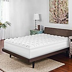 Therapedic® Queen Gel-Infused Baffle Box Memory Foam Mattress Topper in White