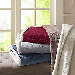 Madison Park Elma Throw Blanket