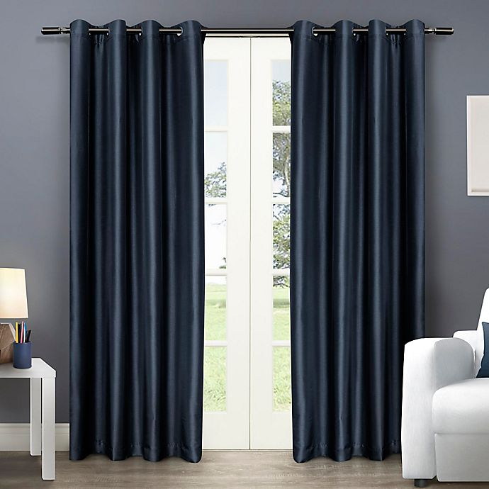 Alternate image 1 for Chatra Grommet Top Window Curtain Panel Pair