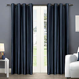 Chatra Grommet Top Window Curtain Panel Pair