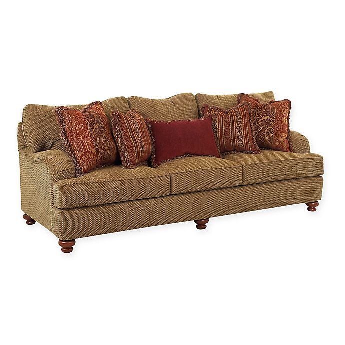 Klaussner Leather Sofa Review: Klaussner® Walker Sofa And Loveseat Collection In Toffee